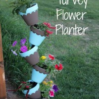 DIY Topsy Turvey Flower Planter With Step by Step Tutorial!