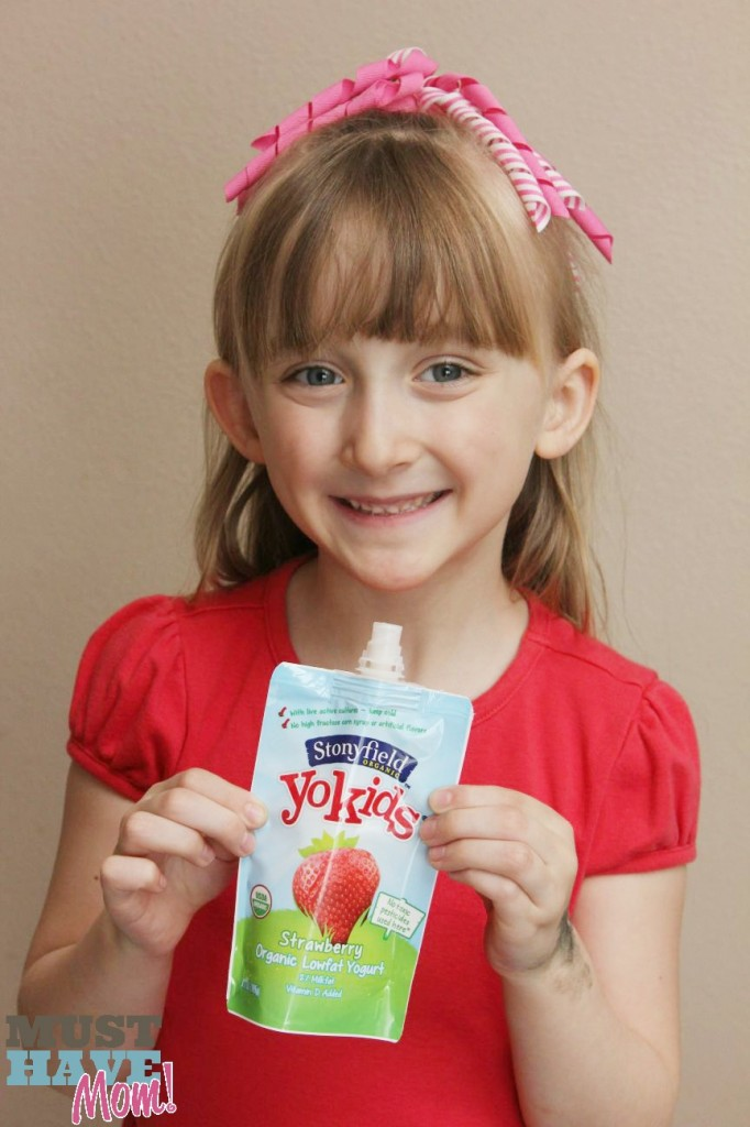 Danika & Stonyfield Yogurt Pouches - Must Have Mom