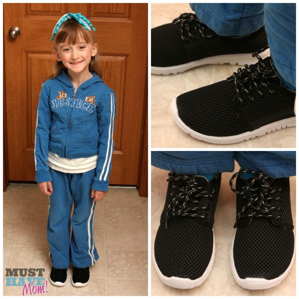 Danika Wearing Etnies Scout in Black - Must Have Mom