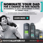 Dove Men+Care and Target Celebrate All-Star Dads!