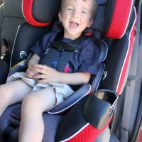 Ride In Safety With The  Evenflo Platinum Symphony LX car seat {Review}