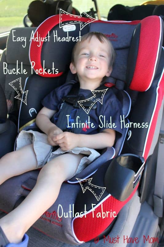 Evenflo Platinum Symphony™ LX car seat - Must Have Mom