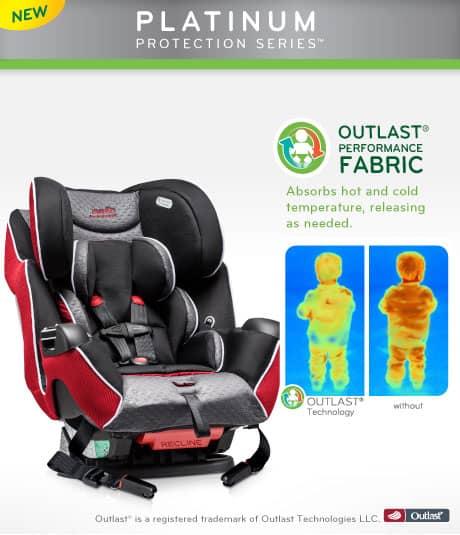 Evenflo Platinum Symphony™ LX car seat