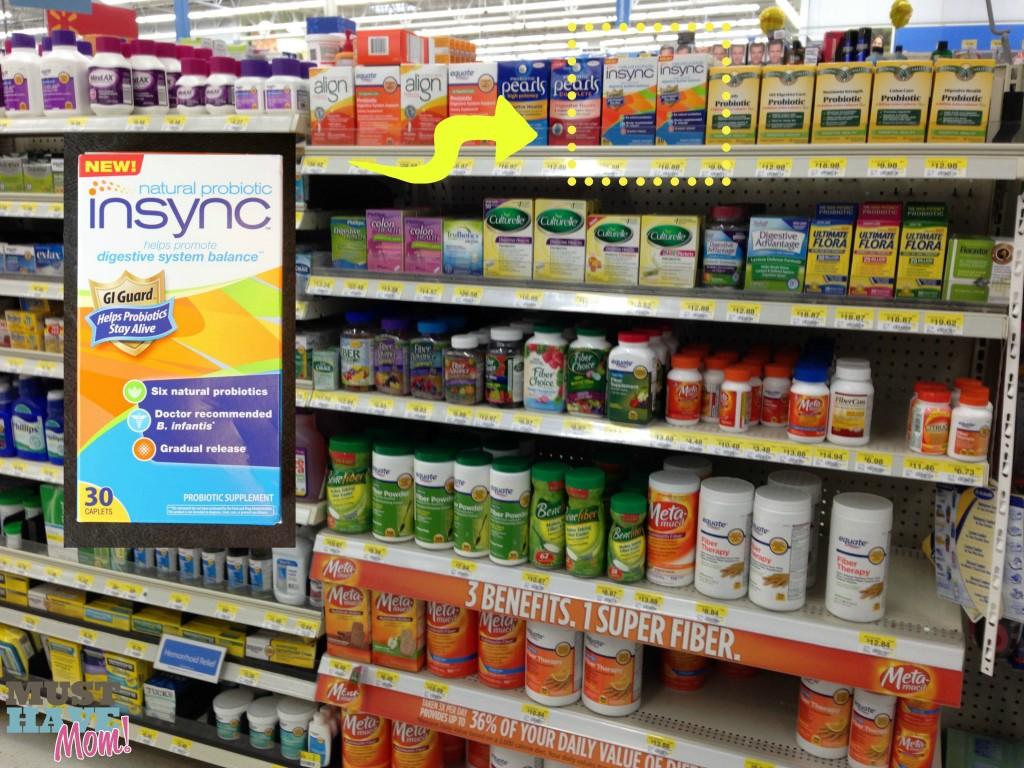 Insync #NaturalProbiotic at Walmart - Must Have Mom #Shop