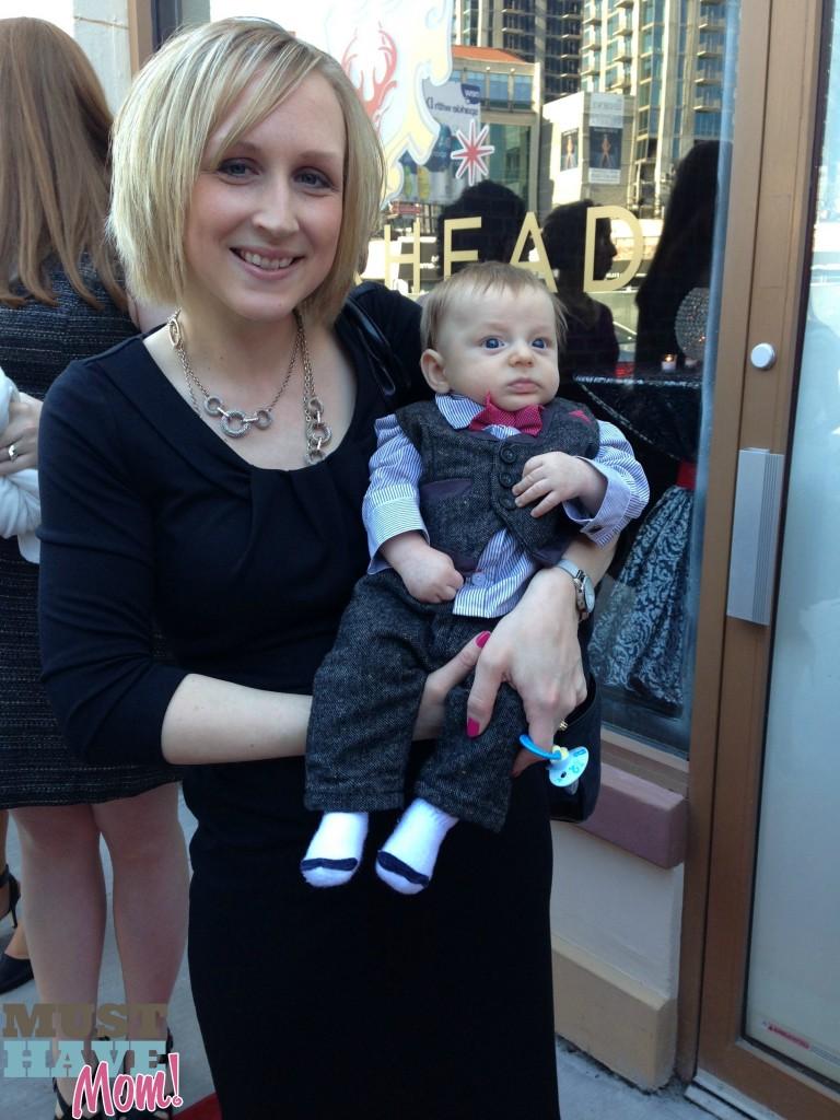 Sarah and Brady at Iris Awards - Must Have Mom