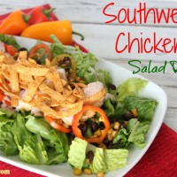 Southwest Chicken Salad #Recipe - Must Have Mom