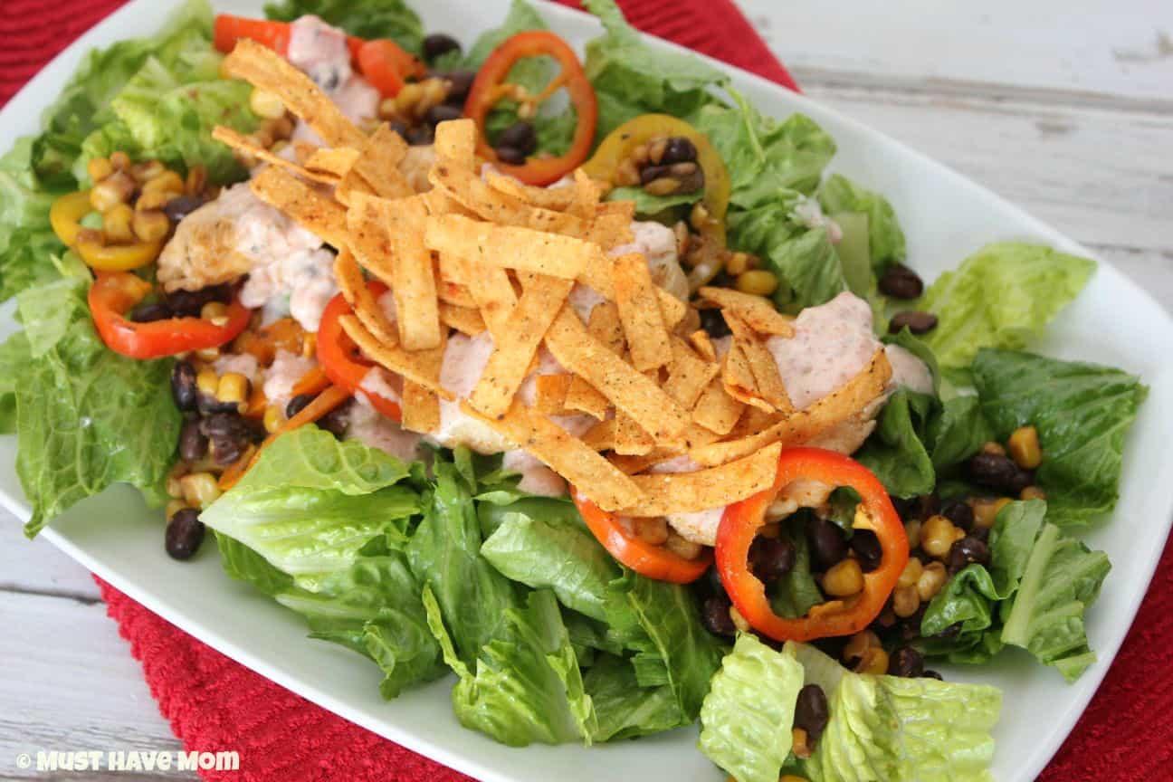 Southwest Chicken Salad Recipe - Must Have Mom