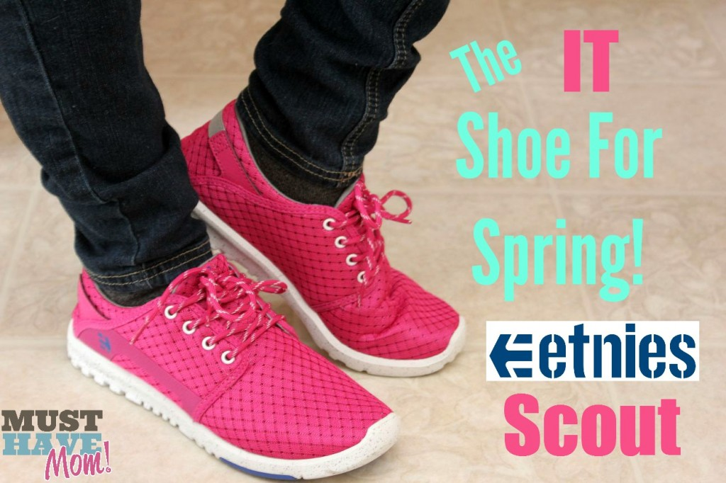 The IT Shoe For Spring Etnies Scout - Must Have Mom