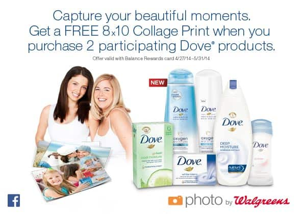 Walgreens and Dove Mother's Day Special
