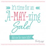 A-MAY-zing Thirty One Sale!