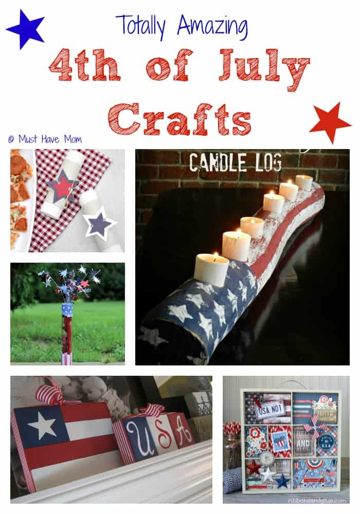 10 Totally Amazing 4th of July Crafts - Must Have Mom
