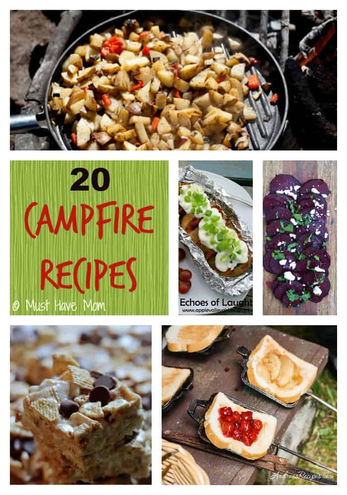 20 Campfire Recipes - Must Have Mom