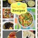 25 Recipes Using Garden Vegetables & Fruits!