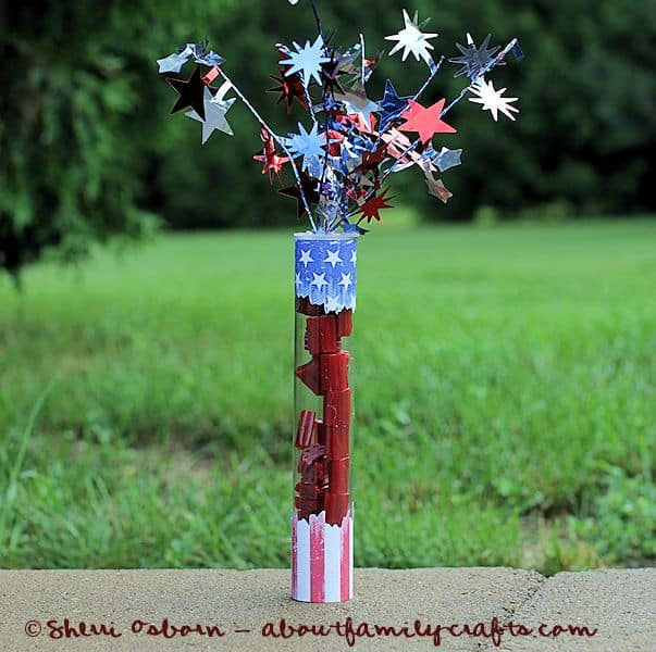 4th of july candy party favor