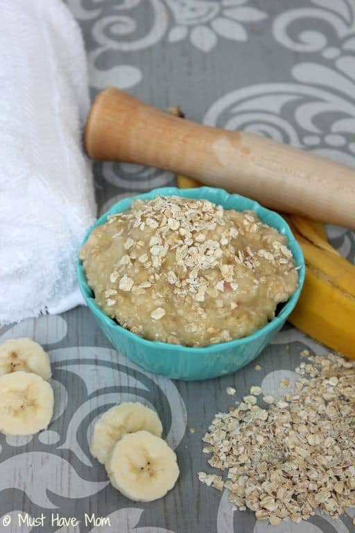 DIY Exfoliating Oatmeal Face Mask - Must Have Mom