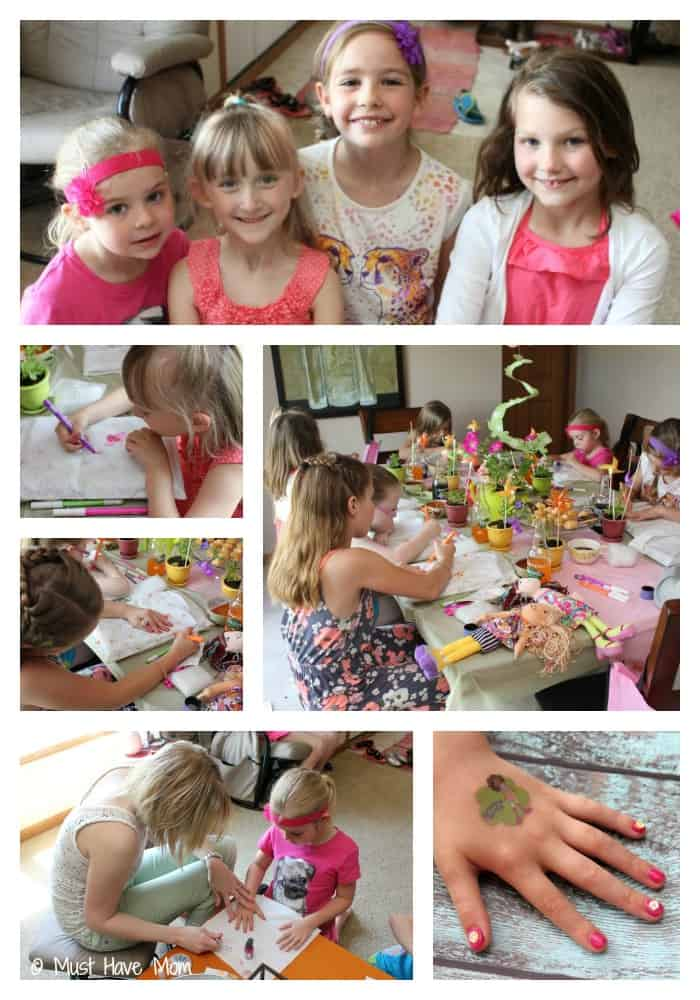 Dolly Garden Party Activities - Must Have Mom
