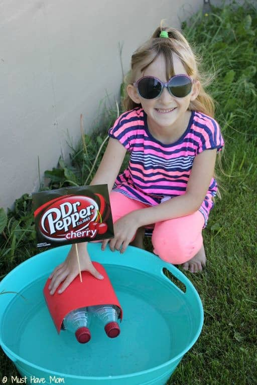 Dr Pepper Boat Craft - Must Have Mom