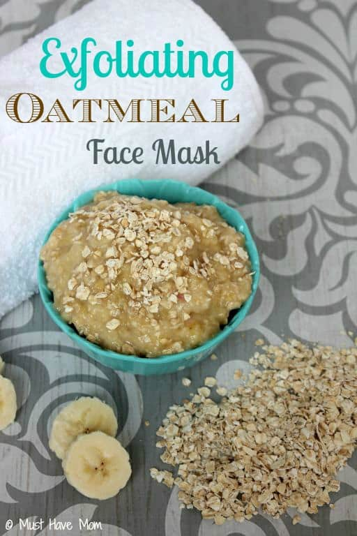 Diy natural exfoliating oatmeal face mask must have mom exfoliating oatmeal face mask recipe must have mom solutioingenieria Images