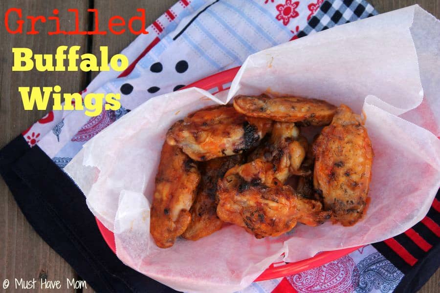 Grilled Buffalo Wings Recipe -- Must Have Mom