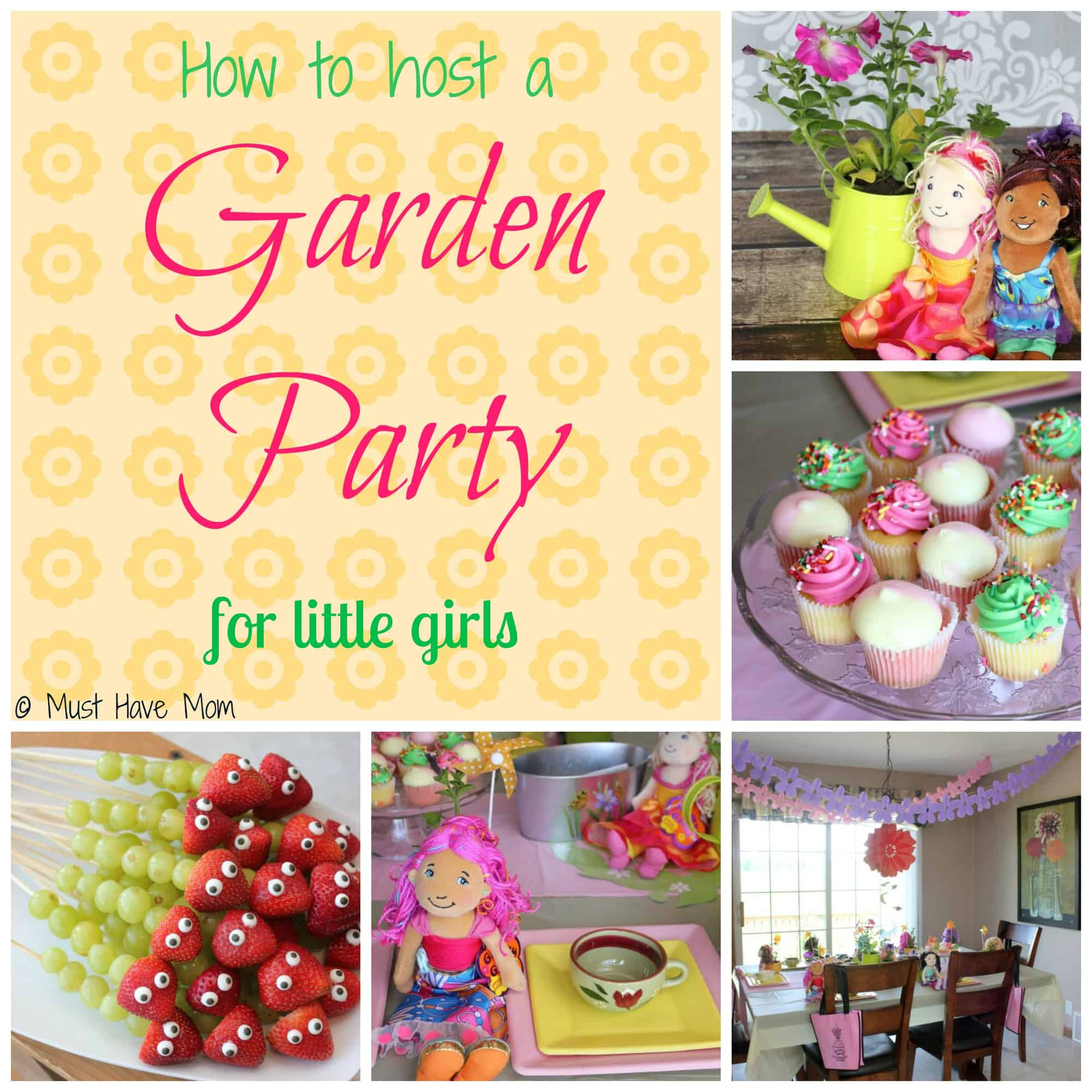 How To Host A Party Extraordinary With Little Girls Garden Parties Photos