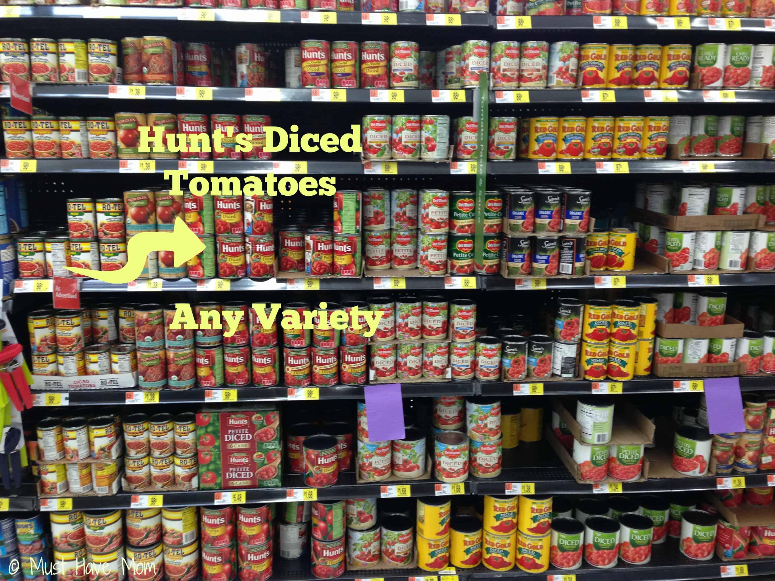 Hunt's Tomatoes #DinnerDone #Collective Bias #Shop