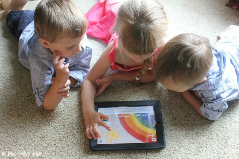 Teach your kids about colors through a story activity - Must Have Mom