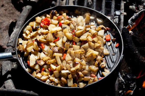 campout food campfire-potatoes2