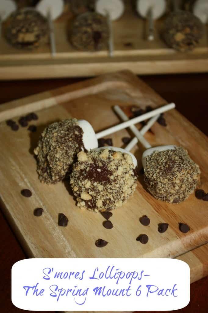 campout food smores lollipops