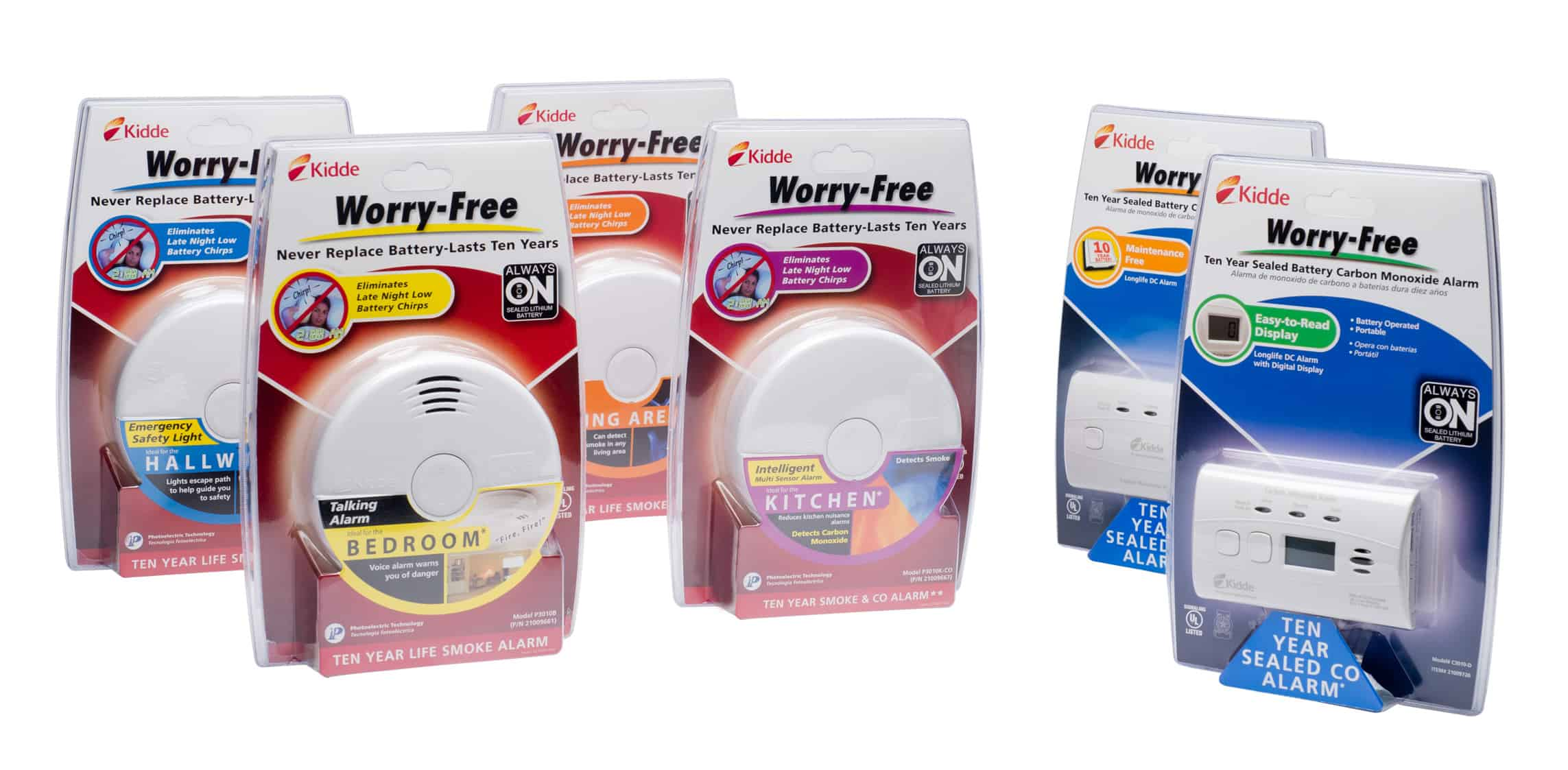 Kidde Worry Free Smoke Alarm