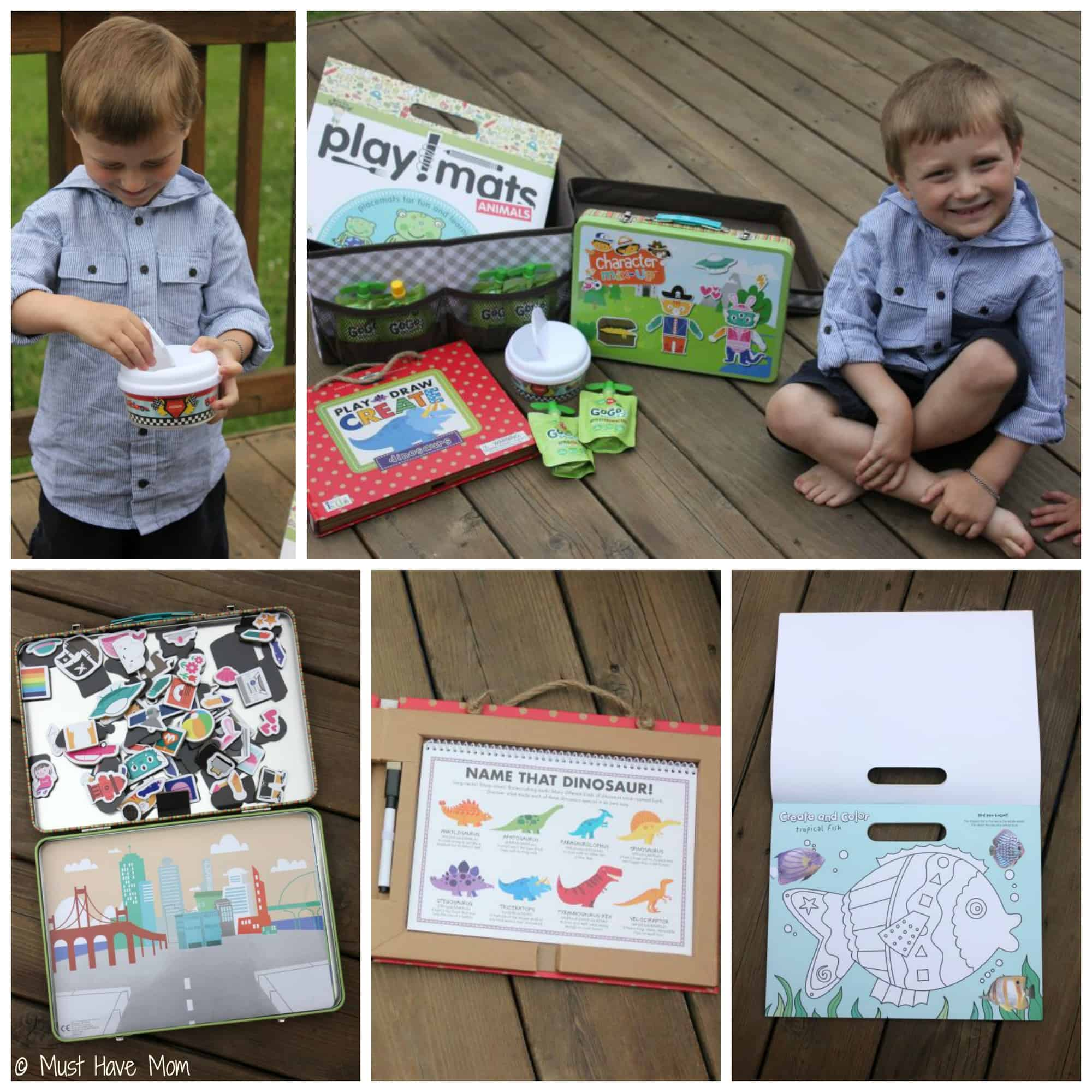 DIY Road Trip Kit for 4 Year Olds - Must Have Mom
