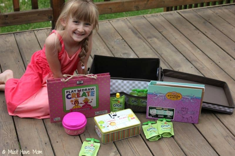 DIY Road Trip Kit for 6 Year Old Girl - Must Have Mom