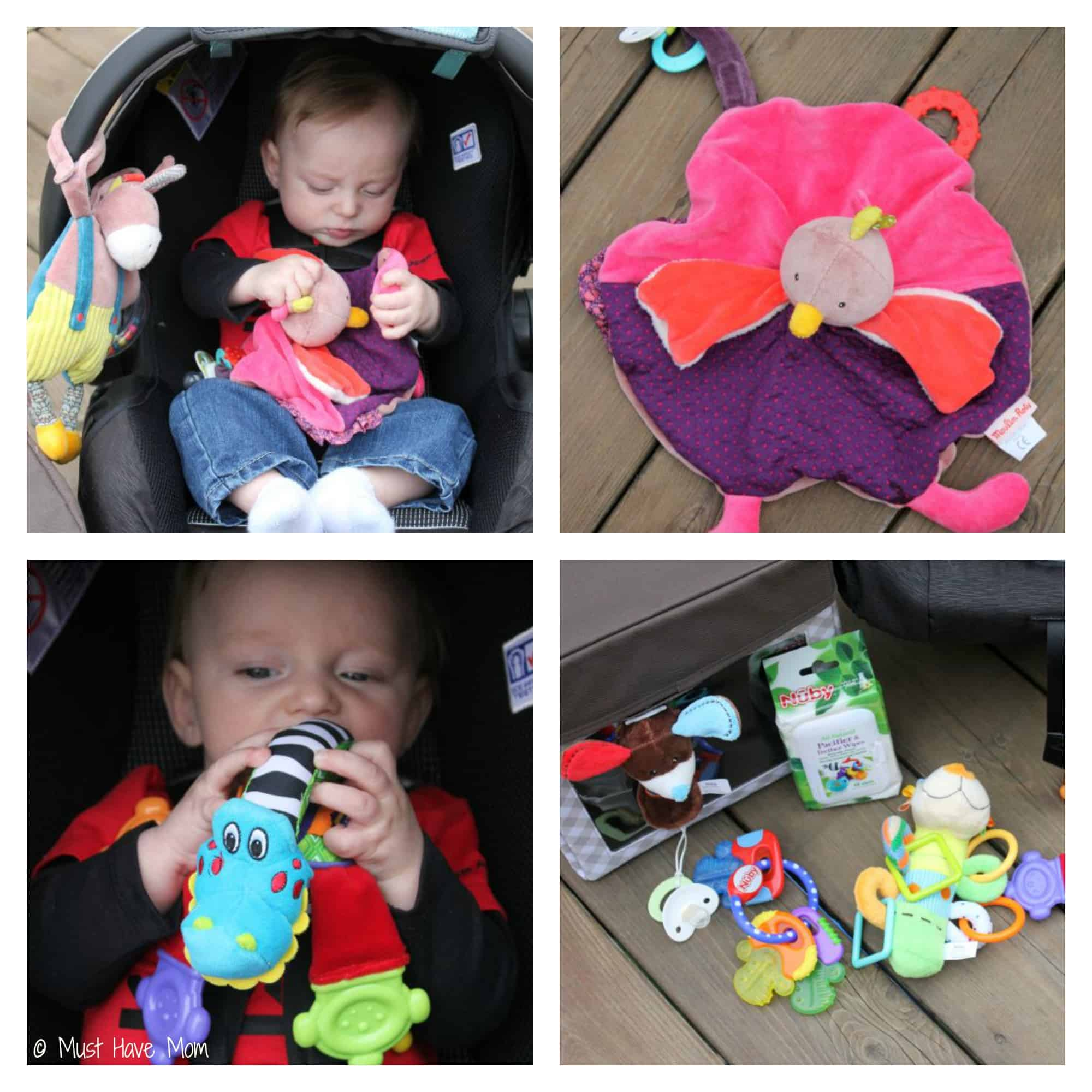 DIY Road Trip Kit for Baby - Must Have Mom