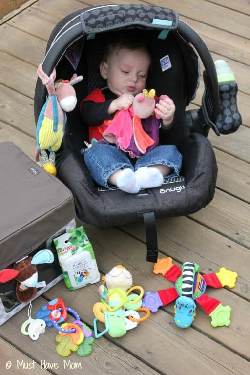 DIY Road Trip Kit for Your Baby - Must Have Mom