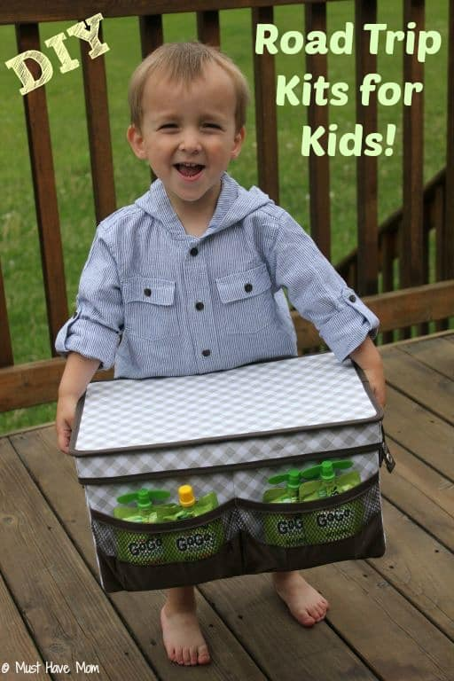 DIY Road Trip Kits For Kids: Ideas For Ages Baby to 6 Years Old {+ Giveaway!}