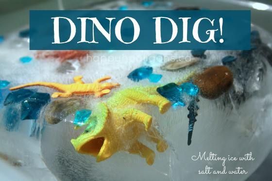Dino Dig Activity