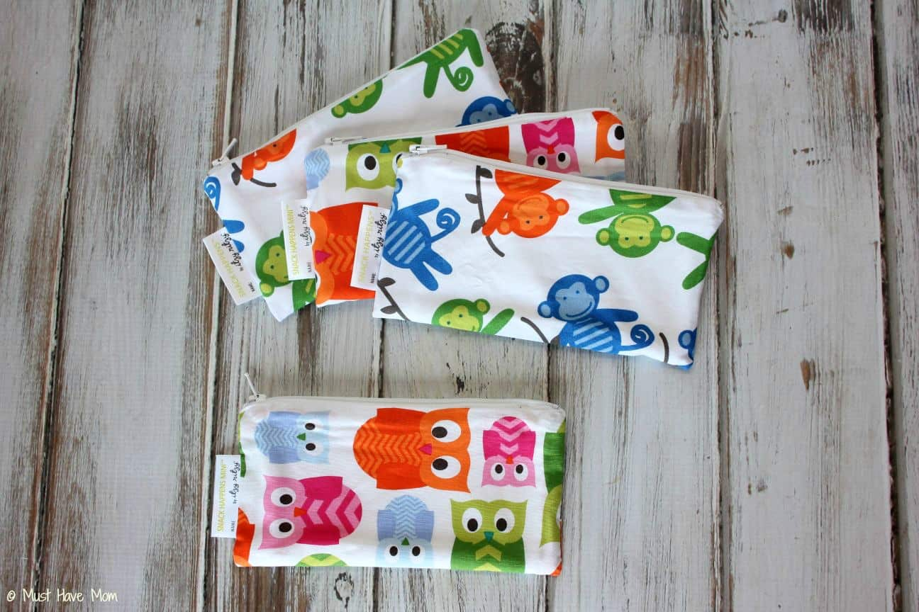 Itzy Ritzy Mini Reusable Snack Bag