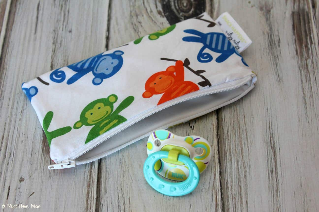 Itzy Ritzy Mini Reusable Snack and Everything Bag