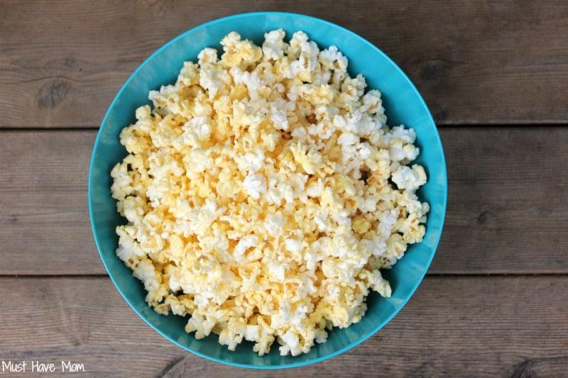 Perfectly Popped Popcorn every time #GoodbyeBurnedPopcorn