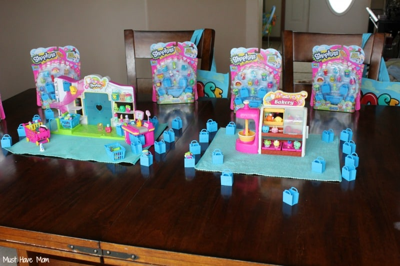 Shopkins Play Date Party