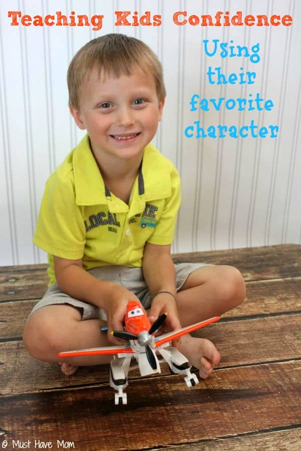 Teaching kids confidence using their favorite character #PlanestotheRescue