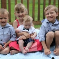 Tips For Dressing Kids In Coordinating Fashions For Family Pictures
