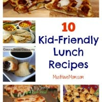 10 Easy Summer Lunch Ideas for Kids