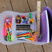 DIY Homework Kits Tutorial: How To Create A Mobile Homework Station