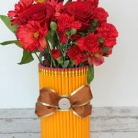 DIY Teacher Gift Pencil Vase -Musthavemom.com