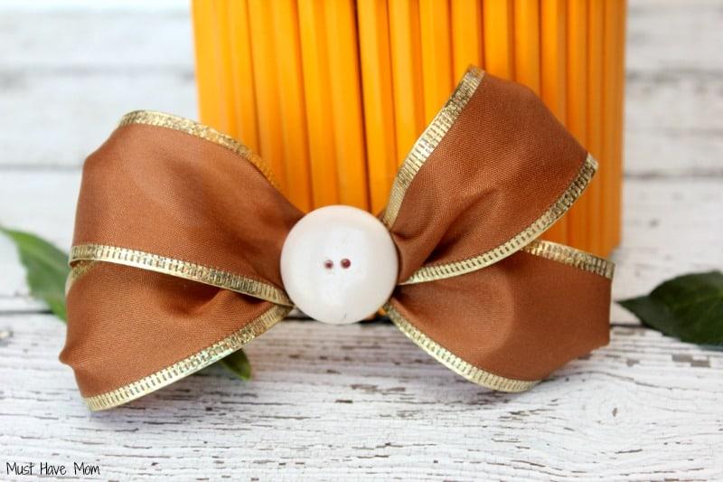 DIY Teacher Gift Pencil Vase Step 11