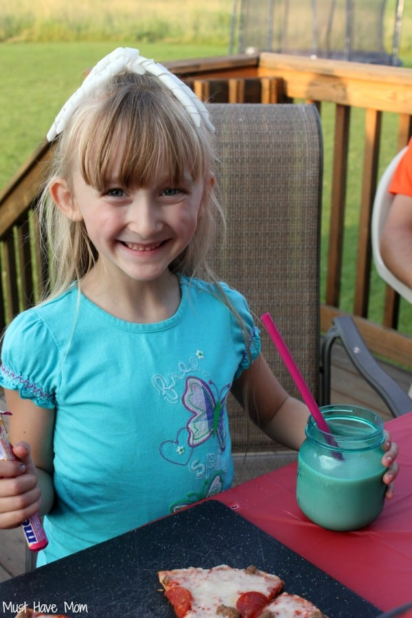 Danika at the Back To School Backyard Party #FoodMadeSimple #Shop