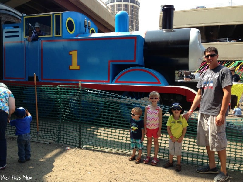 Day out with Thomas in Duluth #DayOutWithThomas