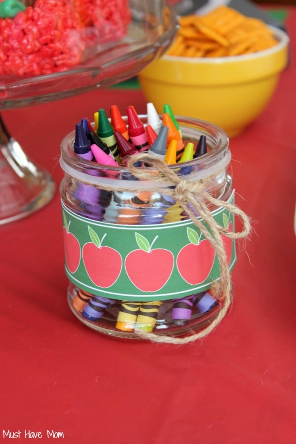 Decorative Crayon Jar - Must Have Mom