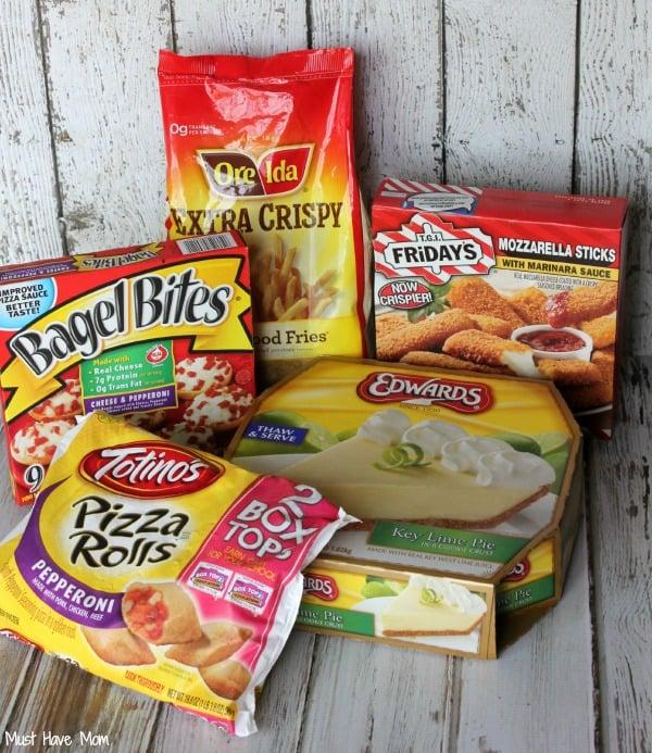 Frozen Foods for Entertaining