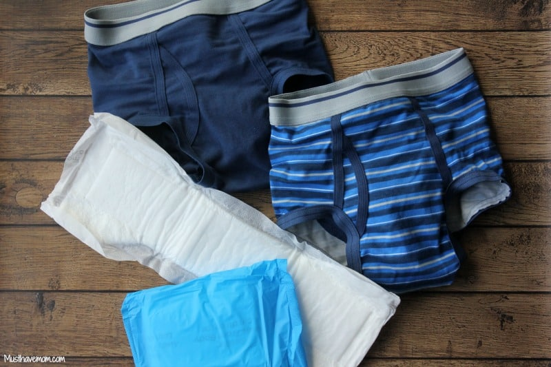 GoodNites TruFit Underwear for bedwetting